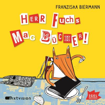 Herr Fuchs mag Bücher!, 1 Audio-CD, Franziska Biermann