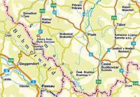 Höfer Straßenkarte Tschechische Republik, Südliches Egerland-Böhmerwald - Produktdetailbild 1