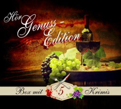 Hör-Genuss-Edition-Box 2016, 25 CD, Paul Grote, Sophia Bonnet, Tom Hillenbrand, Ann Baiano, Michael Böckler