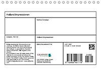 Holland Impressionen (Tischkalender 2018 DIN A5 quer) - Produktdetailbild 13