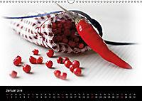 Hot Chili Küchen Kalender Schweizer KalendariumCH-Version (Wandkalender 2018 DIN A3 quer) - Produktdetailbild 1