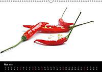 Hot Chili Küchen Kalender Schweizer KalendariumCH-Version (Wandkalender 2018 DIN A3 quer) - Produktdetailbild 5