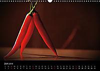 Hot Chili Küchen Kalender Schweizer KalendariumCH-Version (Wandkalender 2018 DIN A3 quer) - Produktdetailbild 6