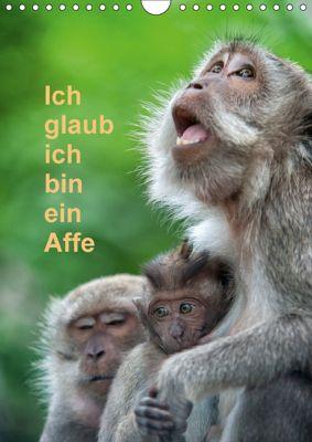 Ich glaub ich bin ein Affe (Wandkalender 2018 DIN A4 hoch), Dieter Gödecke