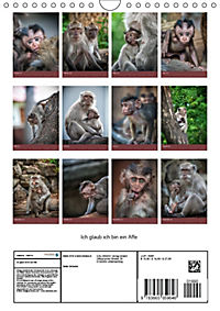 Ich glaub ich bin ein Affe (Wandkalender 2018 DIN A4 hoch) - Produktdetailbild 13