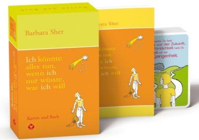 Ich könnte alles tun, wenn ich nur wüsste, was ich will, m. Inspirationskarten, Barbara Sher