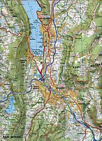 IGN Karte, Tourisme et decouverte Grenoble, Chambéry - Produktdetailbild 2