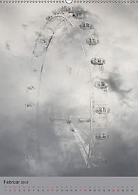 Im Nebelmeer (Wandkalender 2018 DIN A2 hoch) - Produktdetailbild 2