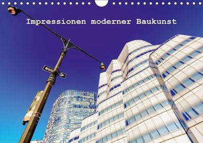 Impressionen moderner Baukunst (Wandkalender 2018 DIN A4 quer), Christian Müller