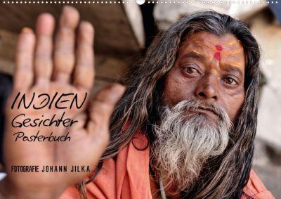 Indien Gesichter (Posterbuch DIN A4 quer), Johann Jilka