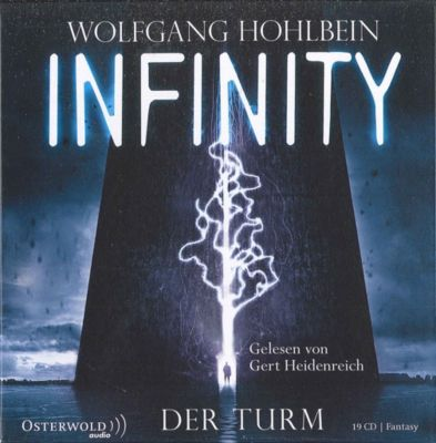 Infinity, 19 Audio-CDs, Wolfgang Hohlbein