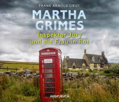 Inspektor Jury und die Frau in Rot, 6 Audio-CDs, Martha Grimes