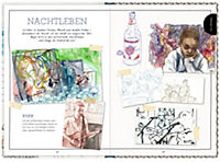 Inspirations- und Skizzenbuch mit Sammeltasche - Urban Sketching - Produktdetailbild 1