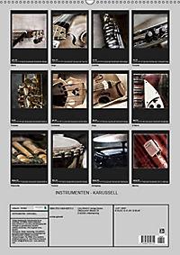 INSTRUMENTEN - KARUSSELL (Wandkalender 2019 DIN A2 hoch) - Produktdetailbild 13