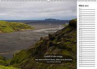 Island - Land der Mythen und Gegensätze (Wandkalender 2018 DIN A2 quer) - Produktdetailbild 3