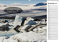 Island - Land der Mythen und Gegensätze (Wandkalender 2018 DIN A2 quer) - Produktdetailbild 11