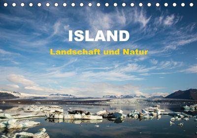 Island - Landschaft und Natur (Tischkalender 2018 DIN A5 quer), Winfried Rusch