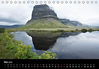 Island - Landschaft und Natur (Tischkalender 2018 DIN A5 quer) - Produktdetailbild 5