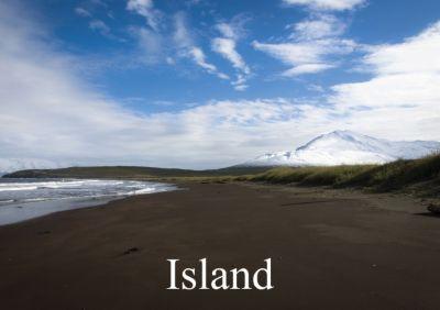 Island (Tischaufsteller DIN A5 quer), Sebastian Luedke