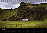 Island (Tischkalender 2018 DIN A5 quer) Dieser erfolgreiche Kalender wurde dieses Jahr mit gleichen Bildern und aktualis - Produktdetailbild 1