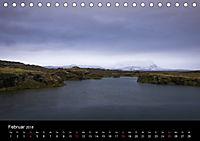 Island (Tischkalender 2018 DIN A5 quer) Dieser erfolgreiche Kalender wurde dieses Jahr mit gleichen Bildern und aktualis - Produktdetailbild 2