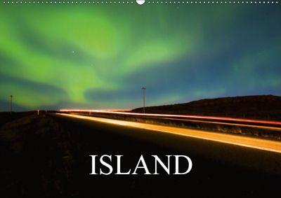 Island (Wandkalender 2018 DIN A2 quer) Dieser erfolgreiche Kalender wurde dieses Jahr mit gleichen Bildern und aktualisi, Sebastian Luedke