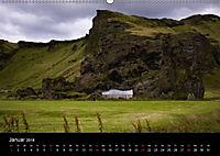Island (Wandkalender 2018 DIN A2 quer) Dieser erfolgreiche Kalender wurde dieses Jahr mit gleichen Bildern und aktualisi - Produktdetailbild 1