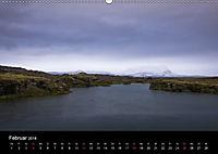 Island (Wandkalender 2018 DIN A2 quer) Dieser erfolgreiche Kalender wurde dieses Jahr mit gleichen Bildern und aktualisi - Produktdetailbild 2