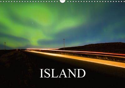 Island (Wandkalender 2018 DIN A3 quer) Dieser erfolgreiche Kalender wurde dieses Jahr mit gleichen Bildern und aktualisi, Sebastian Luedke