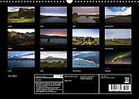 Island (Wandkalender 2018 DIN A3 quer) Dieser erfolgreiche Kalender wurde dieses Jahr mit gleichen Bildern und aktualisi - Produktdetailbild 13