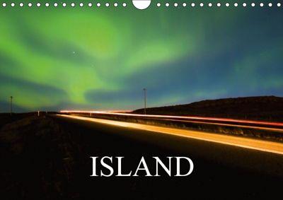 Island (Wandkalender 2018 DIN A4 quer) Dieser erfolgreiche Kalender wurde dieses Jahr mit gleichen Bildern und aktualisi, Sebastian Luedke