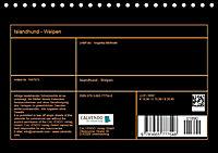 Islandhund - Welpen (Tischkalender 2018 DIN A5 quer) - Produktdetailbild 13