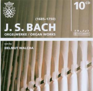 J.S. Bach - Orgelwerke, 10 CDs, Helmut Wacha