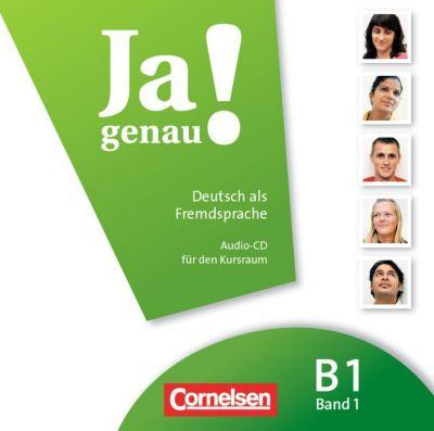 Ja genau! - Deutsch als Fremdsprache: Bd.B1/1 Audio-CD, Andrea Finster