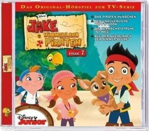 Jake und die Nimmerland Piraten, Audio-CD, Walt Disney