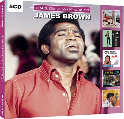 James Brown, 5 CDs
