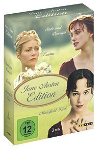 Jane Austen Edition, 3 DVD Box - Produktdetailbild 1