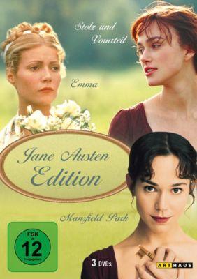 Jane Austen Edition, 3 DVD Box, Jane Austen
