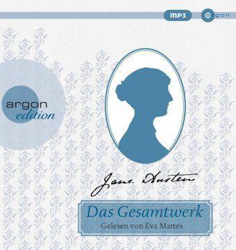 Jane Austen Gesamtausgabe, 13 MP3-CDs, Jane Austen