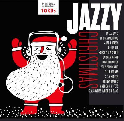 Jazzy Christmas, 10 CDs, Various