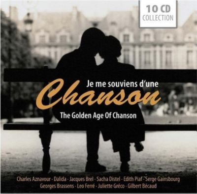 Je me souviens D'une chanson/The Golden Age of Chanson, 10 CDs, Various
