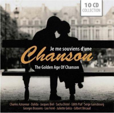 Je me souviens D'une chanson/The Golden Age of Chanson, 10 CDs, Various