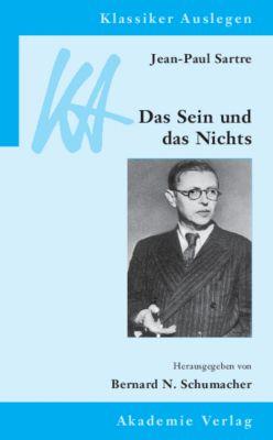 Jean-Paul Sartre, Das Sein und das Nichts