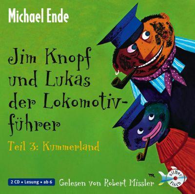 Jim Knopf und Lukas der Lokomotivführer, Audio-CDs: Tl.3 Kummerland, 2 Audio-CDs, Michael Ende