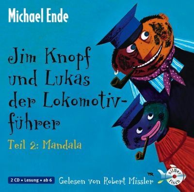 Jim Knopf und Lukas der Lokomotivführer, Audio-CDs: Tl.2 Mandala, 2 Audio-CDs, Michael Ende