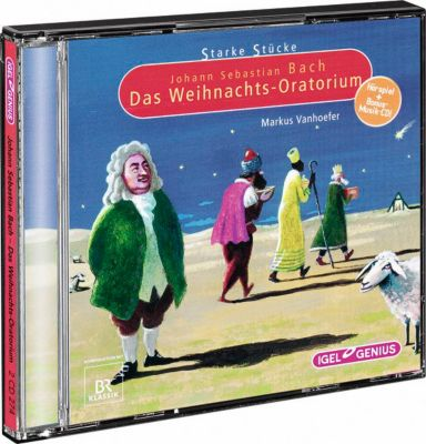 Johann Sebastian Bach - Das Weihnachts-Oratorium, 2 CDs, Diverse Interpreten