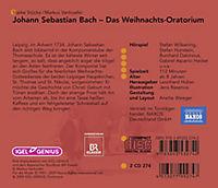 Johann Sebastian Bach - Das Weihnachts-Oratorium, 2 CDs - Produktdetailbild 1