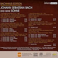 Johann Sebastian Bach und seine Söhne - Bachhaus-Edition, CD - Produktdetailbild 1