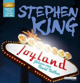 Joyland, 2 MP3-CDs, Stephen King