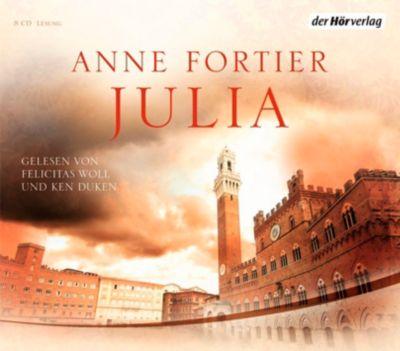 Julia, 8 Audio-CDs (Sonderausgabe), Anne Fortier